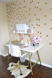 home office all things pink and pretty home decor part two my mini office pertaining bathroomgorgeous inspirational home office desks desk