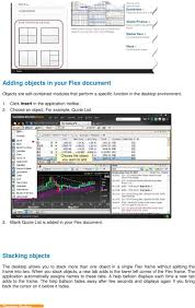 thomson reuters eikon user guide pdf stacking objects the desktop allows you to stack more than one object in a single flex