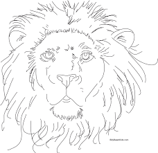 Small Picture Coloring Page Pages Draw A Lion At Es Coloring Pages