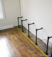 how to build industrial shelves build industrial furniture