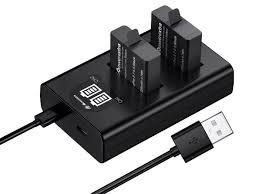 Зарядное устройство Powerextra NP F970 2 аккумулятора 21276 ...