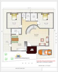 duplex plans bedroom incredible design house india house plan ground floor plan  sq ft