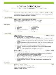 perfect nursing resume in    tips to follow •nurse resume example