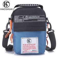 <b>mens</b> mini tote handbag <b>vintage</b> waterproof nylon crossbody bags ...