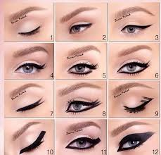 how to do eyeliner wings for small eyes eye makeup tips 2017