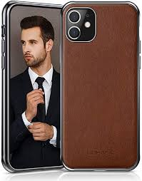 LOHASIC iPhone 11 Case, <b>Business</b> Slim Fit PU <b>Leather</b> Elegant ...