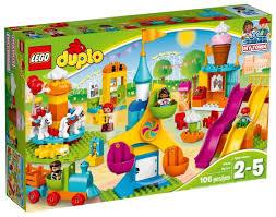 <b>Конструктор LEGO Duplo</b> 10840 Большая ярмарка — купить по ...