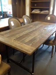 restoration hardware dining tables