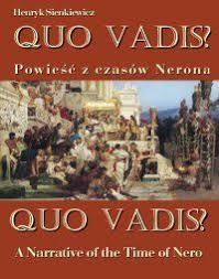 Znalezione obrazy dla zapytania quo vadis
