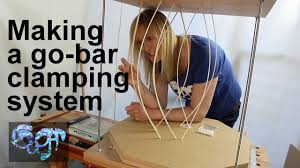 Making a go-<b>bar clamping</b> system - the curious world of flexed pine ...