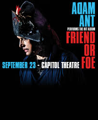 <b>Adam Ant</b>: Friend or Foe - Rescheduled - ArtTix Events | Salt Lake ...