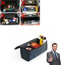 Portable Foldable Multipurpose Car <b>Felt Cloth Folding Storage</b> Box ...