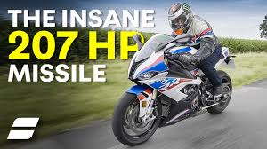 BMW's 207HP Missile: <b>BMW S1000RR</b> M Package Review | 4K ...