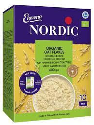 <b>Хлопья</b> Овсяные органические 600 гр. <b>Nordic</b> 10324474 в ...