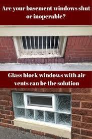 protect glass block window basements
