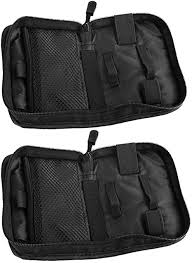 Healifty <b>2 PCS Fingertip Pulse</b> Storage Bag Case Portable Blood ...