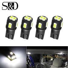 <b>2pcs T10 W5W LED</b> Bulbs 194 168 30SMD 3014 Chips Car Interior ...