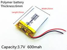 Buy <b>battery</b> 602535 and get free shipping on AliExpress.com