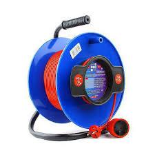 "Удлинитель на катушке ""<b>PowerCube</b>"" 10А/2,2 кВт, <b>40м</b>, 1 розетка ..."