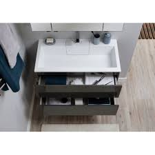Комплект <b>мебели Aquanet</b> Алвита 90 серый антрацит 241388 ...