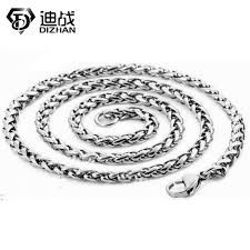 <b>Hot Trendy Titanium</b> Steel Chain Men Jewelry Party 2 Size Fashion ...