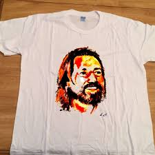 Willie Nelson Shirt <b>Vintage 1980</b> Hand Painted Red Headed ...