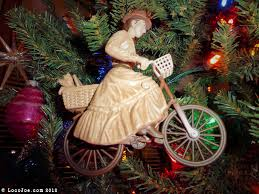 Image result for bicycle Christmas ornament