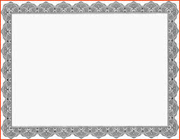 gift certificate templates printable certificates for 8 blank it