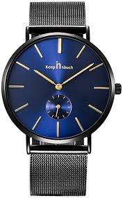 <b>Fashion Men</b> Ultrathin Watch with Alloy Case Stainless Steel Strap ...