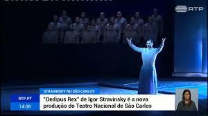 """Resultado de imagem para fotos do espectáculo no São Carlos """"OEdipus Rex"""""""