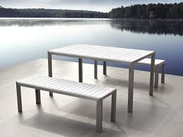 poly lumber outdoor dining table