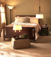 endearing design ideas of bedroom lighting options with drum pendant lamp and floor lamp also candle bedroom lighting options