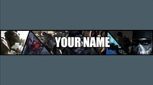 FREE Call of Duty: Ghosts YouTube Banner Template (BY ME ...