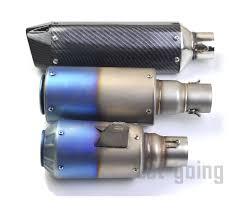 <b>Universal</b> 51mm <b>Motorcycle Exhaust Pipe</b> Motorbike Yoshimura ...