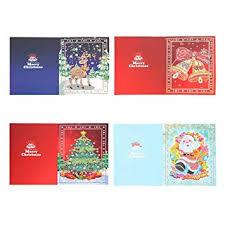 Domybestshop 1/<b>4Pcs Merry Christmas</b> Greeting Cards, Christmas ...