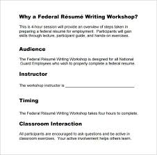 federal resume template     free word  excel  pdf format download    federal resume writing pdf template download