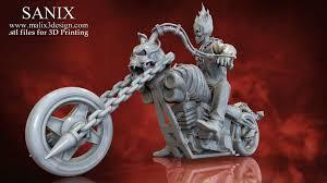 3D Printed <b>Ghost Rider</b> - 3D Model for 3D <b>Printing</b> by Sanix3 ...