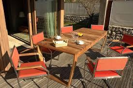 Tavolo Da Terrazzo In Legno : Tavoli da giardino in legno di charme arredo la