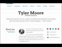 create a résumé website in wordpress   youtube