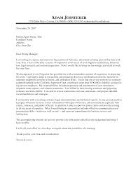 cover letter sample attorney template cover letter sample attorney
