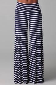 <b>Stripe Wide Leg Yoga</b> Pants | Ropa, Pantalones de moda, Moda estilo