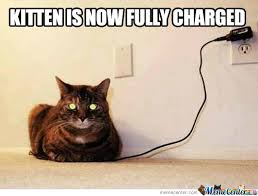 It's Charged Right Meow by getyak19 - Meme Center via Relatably.com
