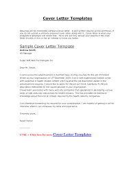resume cover letter template word free   Template