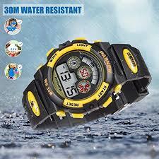 Fast Delivery Kids Boys Digital Sport Watch - <b>30M Waterproof</b> Sport ...