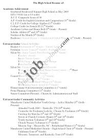 resume examples high school student resume examples for jobs high resume examples sample resume for high school students sample resume for college
