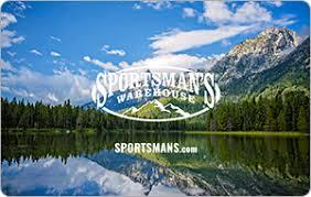 Sportsman's Warehouse eGift Cards - Sports & Outdoors   eGifter