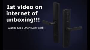 <b>Xiaomi Mijia Smart Door</b> Lock (unboxing) 3D Fingerprint sensor ...