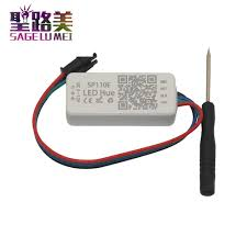 <b>DC5</b>-<b>24V</b> SP110E Bluetooth <b>Pixel light</b> Controller by smart phone ...
