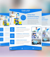 best flyer psd templates designmaz cleaning service psd flyer template
