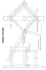Free Plans for a Wren Bird HouseWren House printable plans